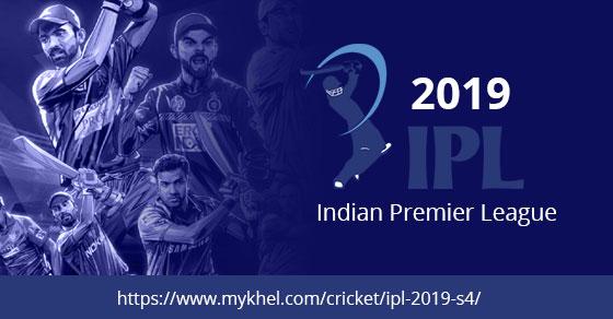 IPL 2019: Live Score, Latest News, Schedule, Teams, Points Table