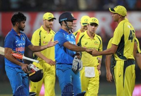 India beat Australia to win ODI series