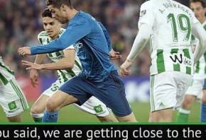Ronaldo s form continues to improve - Zidane
