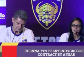 Chennaiyin FC Extends Gregory s Contract By A Year