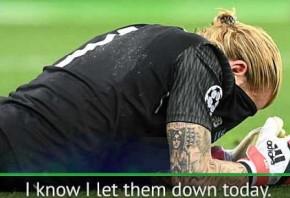 I let Liverpool down - Karius