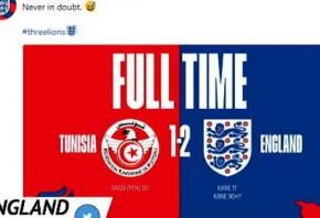 Socialeyesed - Tunisia 1-2 England