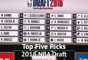 Ayton goes first Doncic third - the top five picks of the 2018 NBA Draft