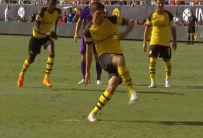 Pulisic stars as Dortmund beat Liverpool in Charlotte.