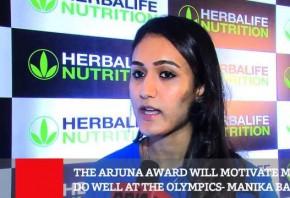 The Arjuna Award Will Motivate Me To Do Well At The Olympics - Manika Batra