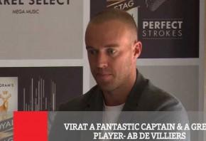 Virat A Fantastic Captain A Great Player - Ab De Villiers