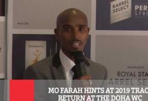 MO Farah Hints At 2019 Track Return At The Doha WC