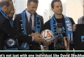 Beckham s Miami franchise a long time coming - Commissioner Garber