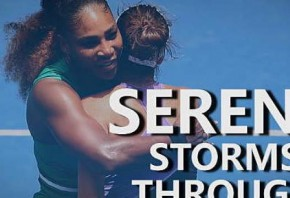 Australian Open Day 2 - Serena and Djokovic ease through