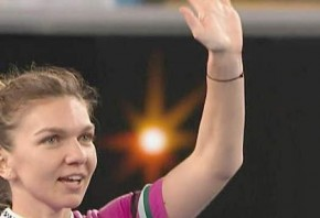 Gutsy Halep fights back from set down to win