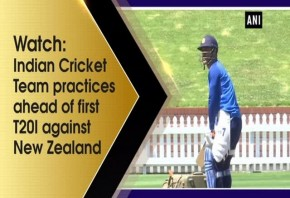 Watch: Indian Cricket Team practices ahead of first T20I against New Zealand