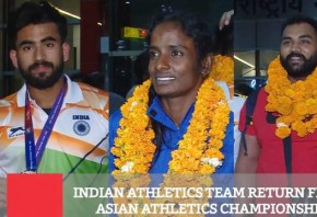 Indian Athletics Team Return From Asian Athletics Championship