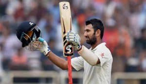 Pujara achieves rare feat in opening Test vs Sri Lanka