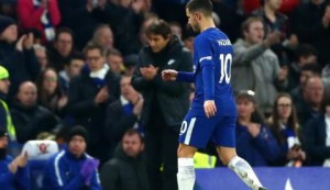 Hazard's happiness is not important, I am the manager - Conte