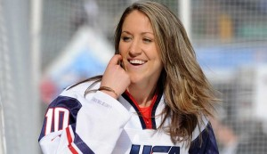 Gold well help US women's sport - Ice Hockey captain