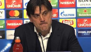 We should have scored but we're happy with performance - Montella