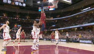 Story of the Day - LeBron posts historic numbers in Cavs win