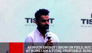 As Much Energy I Show On Field, But, At Home I Am A Total Vegetable - Kohli