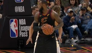 LeBron steals the show with 40-point triple-double