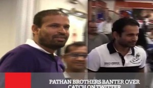 Pathan Brothers Banter Over Catch On Twitter