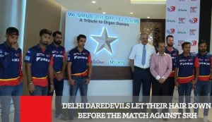 Delhi Daredevils Let Their Hair Down Before The Match Against SRH