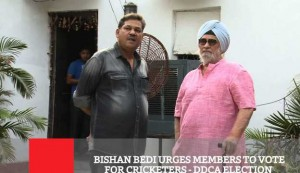 Bishan Bedi Urges Members To Vote For Cricketers DDCA Election