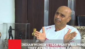 Indian Women's Team Play Well When They Attack More - Mk Kaushik.