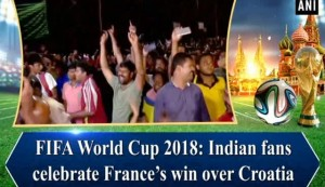 FIFA World Cup 2018: Indian fans celebrate France's win over Croatia