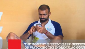 The Moment Is 'Speechless'- Sreejesh On Watching The Indian Flag Go Up