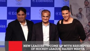 New Leagues To Come Up With Resumption Of Hockey League - Rajeev Mehta