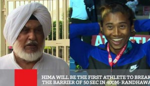 Hima Will Be The First Athlete To Break The Barrier Of 50 Sec In 400m - Randhawa