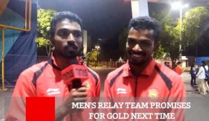 Men's Relay Team Promises For Gold Next Time