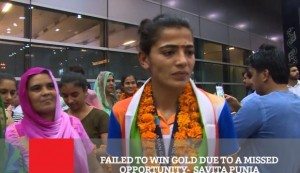 Failed To Win Gold Due To A Missed Opportunity - Savita Punia