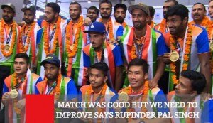 Match Was Good But We Need To Improve Says Rupinder Pal Singh