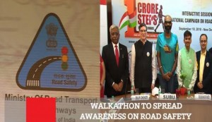 Walkathon To Spread Awareness On Road Safety