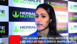 The Arjuna Award Will Motivate Me To Do Well At The Olympics - Manika Batra
