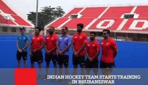 Indian Hockey Team Starts Training In Bhubaneswar