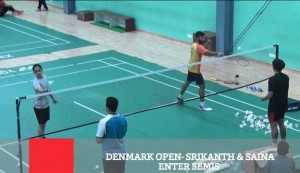 Denmark Open - Srikanth & Saina Enter Semis