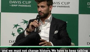 Embattled Pique still talking to Djokovic over Davis Cup participation