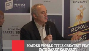 Maiden World Title Greatest Feat Says Garry Kasparov