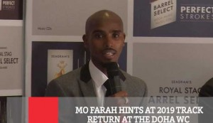 MO Farah Hints At 2019 Track Return At The Doha WC