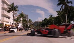 Red Bull races through Miami en route to Texas.