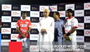 India Unveils Hockey World Cup Stadium In Bhubaneswar