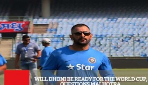There Is No One Like Dhoni - AN Sharma On The Ideal Wicket Keeper For The WC