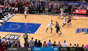 Fournier dunk for Magic levels it up with two seconds to play