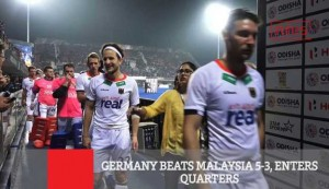Germany Beats Malaysia 5-3, Enters Quarters
