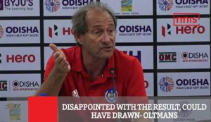 Disappointed With The Result, Could Have Drawn - Oltmans