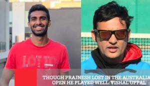 Though Prajnesh Lost In The Australian Open He Played Well - Vishal Uppal