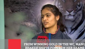 From Winning Gold In The Wc - Manu Bhaker Shifts Focus On Her Exams