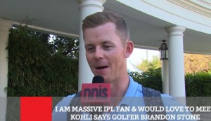 I Am Massive IPL Fan & Would Love To Meet Kohli Says Golfer Brandon Stone